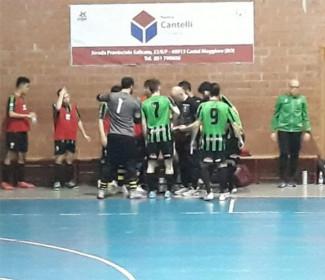 Aposa Fcd - Faventia calcio a 5  3-5 (p.t. 2-0)