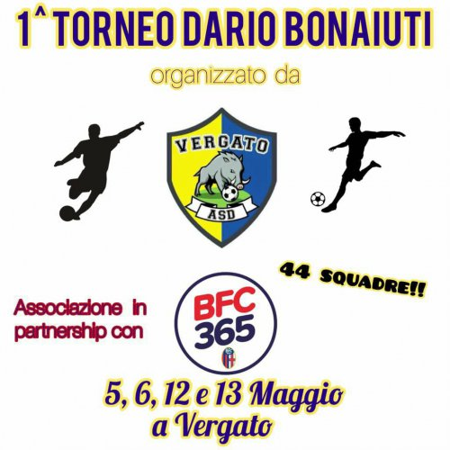 A maggio il primo torneo Dario Bonaiuti a Vergato