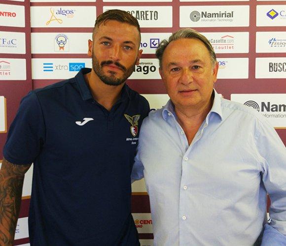 Alexis Ferrante e' un nuovo giocatore dell' Alma Juventus Fano