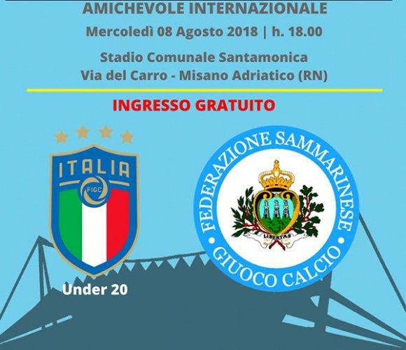 Misano si tinge di azzurro con la partita Italia Under 20 - San Marino