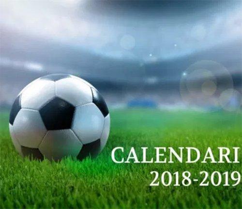 Scarica i calendari 2018-19
