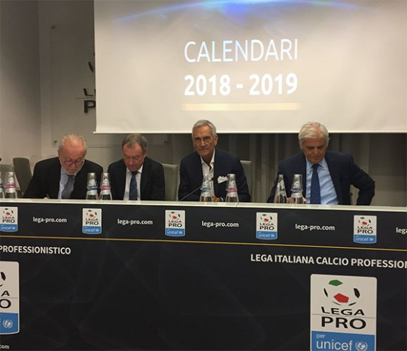 Ufficializzati i calendari di Serie C