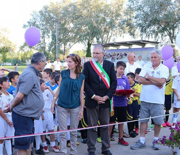 Inaugurati i nuovi spogliatoi del campo sportivo di Granarolo