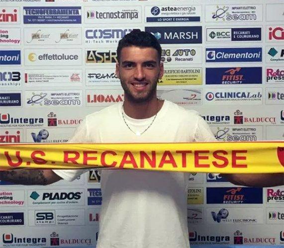 Marco Colonna ritorna alla Recanatese