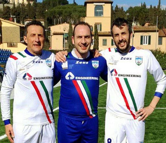 A Fruges di Massa Lombarda La partita della nazionale italiana sindaci
