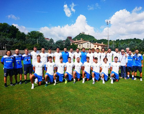 Cronoca del primo giorno di ritiro dell'Alma Juventus Fano