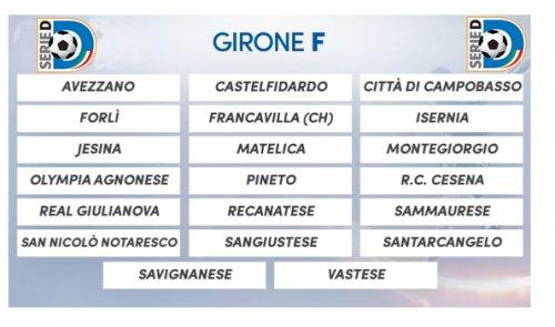 Il Girone F 2018-19 di Serie D