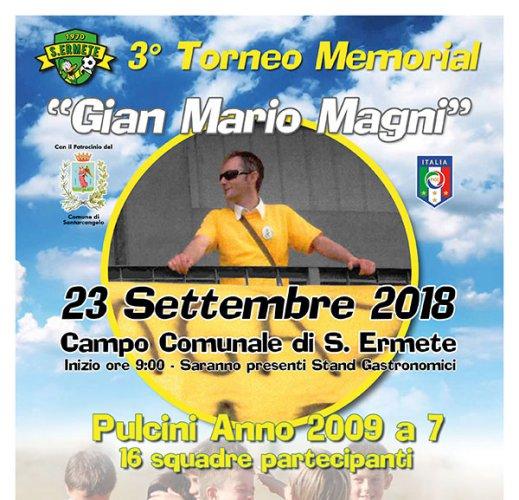 """3a Edizione del Memorial """"Gian Mario MAGNI"""" di S.Ermete"""