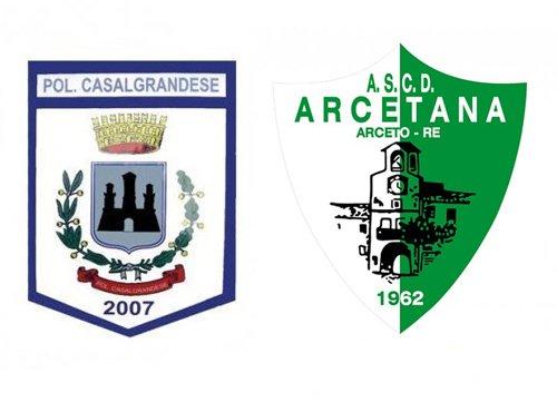 Casalgrandese vs Arcetana 4-1