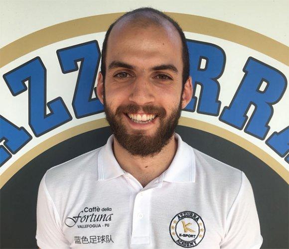 Filippo Mazzoli è un giocatore dell'Azzurra!