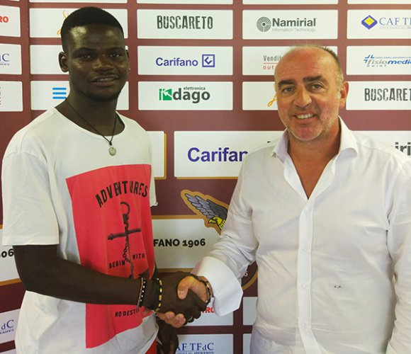 Ndiaye Moussa è un giocatore dell'Alma Juventus Fano