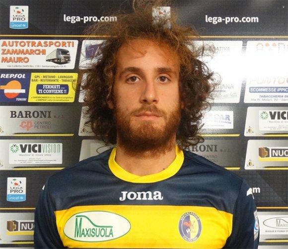 Nicola Capellini nuovo centrocampista del Santarcangelo Calcio