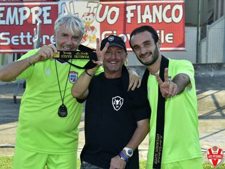 Marco Manzini ospite al Supplementare Benelli assieme ai giovani portieri biancorossi