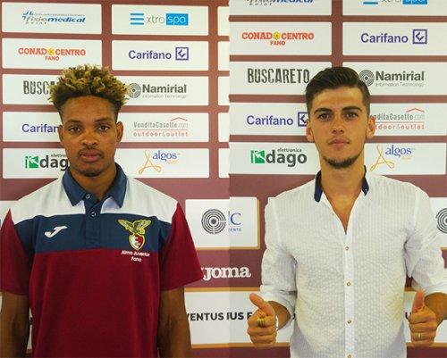 Diallo e Moloku sono dell'Alma Juventus Fano