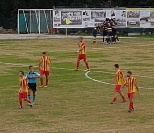 Villa Musone impegnato nel derby contro l'Osimana