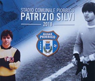 Intitolazione stadio comunale di Piobbico a Patrizio Silvi
