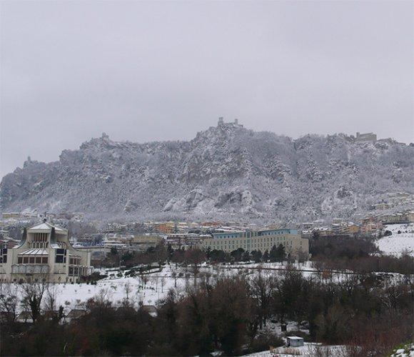 La neve ridisegna i calendari di San Marino Academy e Coppa Titano