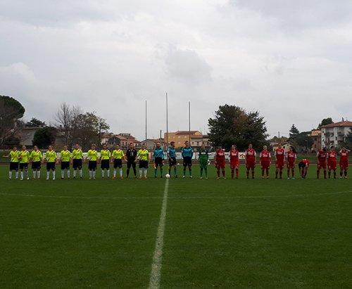 Jesina CF vs San Paolo/Carpi FC 1909  4-1