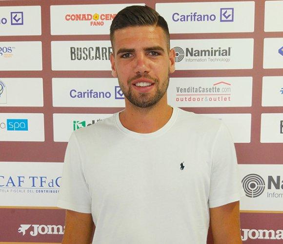 Simone Mancini firma per l'Alma Juventus Fano