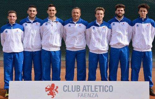 Tennis Club Faenza, pronto riscatto in serie C maschile. Sconfitto il Cus Ferrara 6-0