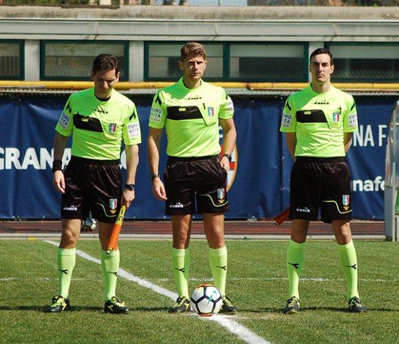 Serie D: programma gare e arbitri della 15^ giornata (17^ gironi E-F-G)