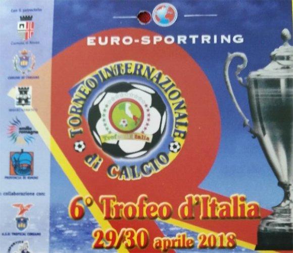 """Il 29 e 30 aprile prossimi ritorna in Riviera Adriatica  l'atteso appuntamento calcistico con il """"Trofeo d'Italia 2018""""."""