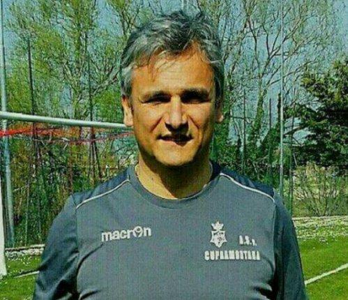 Roberto Vico esordisce alla  soglia dei 50 anni con il Cupramontana calcio