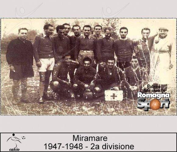 FOTO STORICHE - Miramare 1947-48