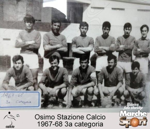 FOTO STORICHE - Osimo Stazione Calcio  1967-68
