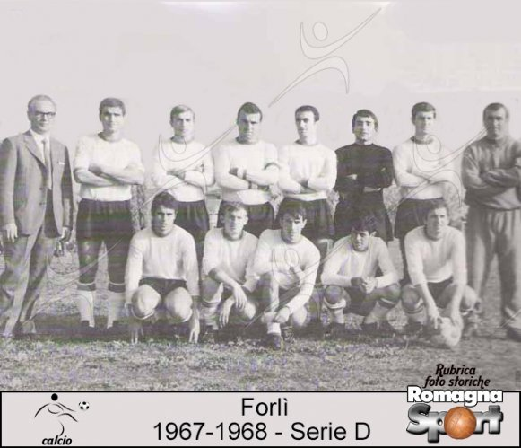 FOTO STORICHE - Forlì 1967-68