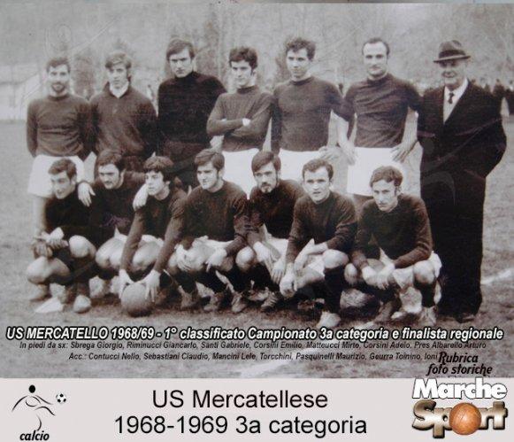 FOTO STORICHE - US Mercatellese 1968-69