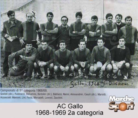 FOTO STORICHE - AC Gallo 1968-69