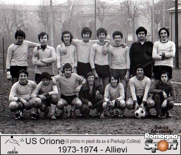 FOTO STORICHE - Allievi Orione 1973-74