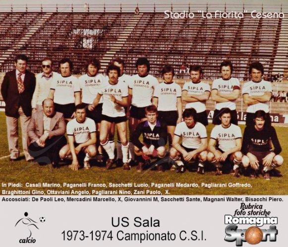 FOTO STORICHE - US Sala 1973-74