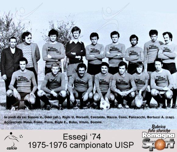 FOTO STORICHE - Essegi '74  1975-76