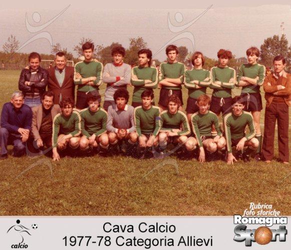 FOTO STORICHE - Cava Forlì Allievi 1977-78