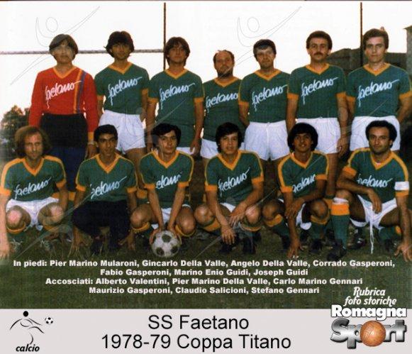 FOTO STORICHE - SS Faetano 1978-79