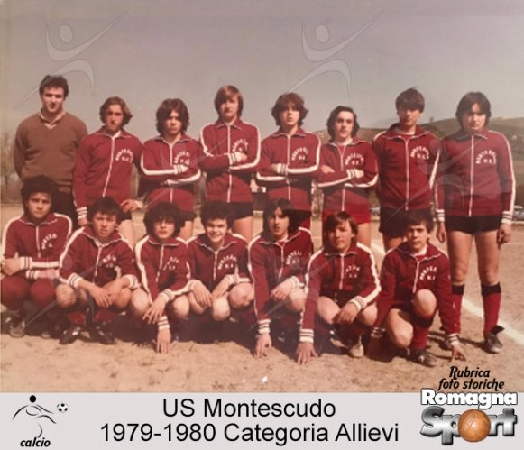 FOTO STORICHE - Allievi US Monstescudo 1979-80