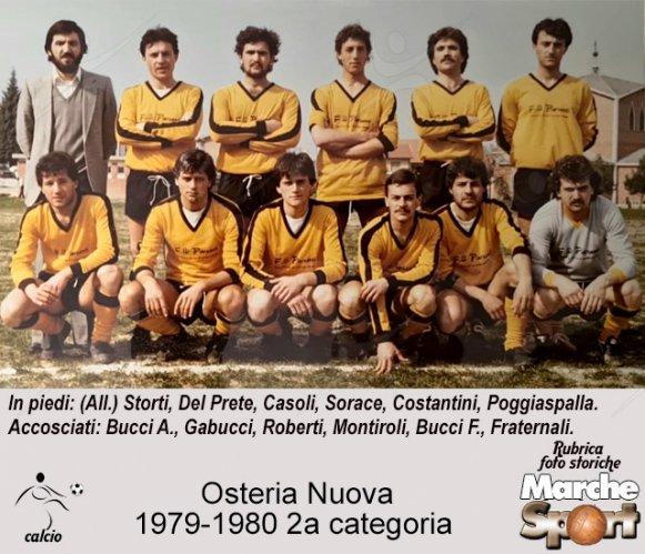 FOTO STORICHE - Osteria Nuova 1979-80