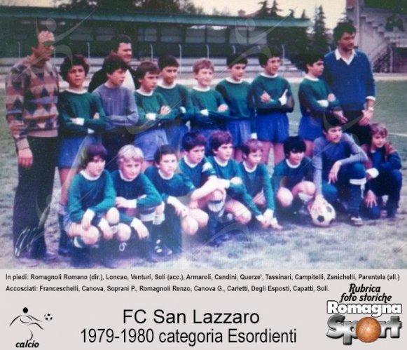 FOTO STORICHE - FC San Lazzaro 1979-80, esordienti