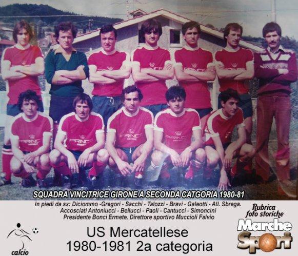 FOTO STORICHE - US Mercatellese 1980-81