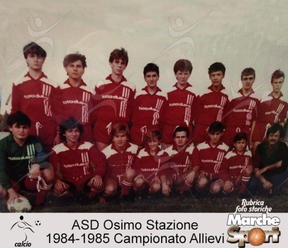 FOTO STORICHE - Allievi Osimo Stazione Calcio 1984-85