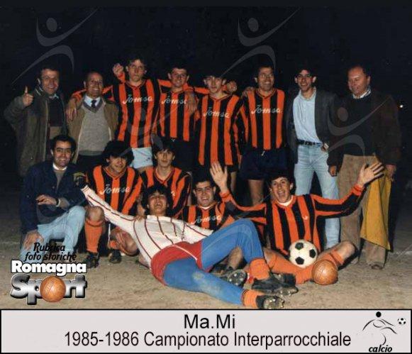 FOTO STORICHE - Ma.Mi 1985-86