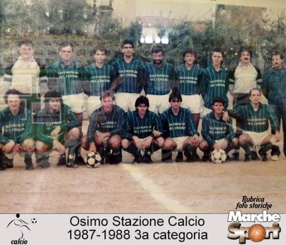 FOTO STORICHE - Osimo Stazione Calcio  1987-88