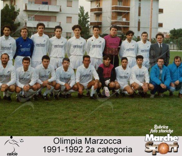 FOTO STORICHE - Olimpia Marzocca 1991-92