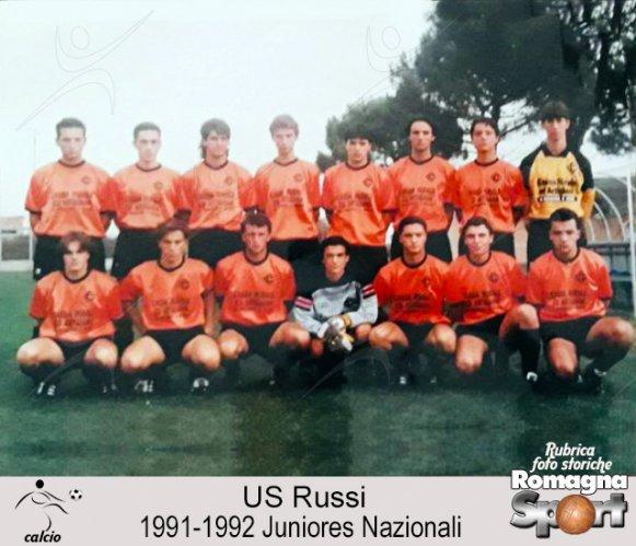 FOTO STORICHE - US Russi, juniores nazionale 1991-92