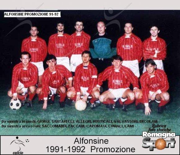 FOTO STORICHE - Alfonsine 1991-92