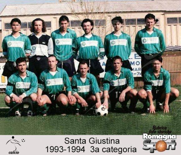 FOTO STORICHE - Santa Giustina 1993-94