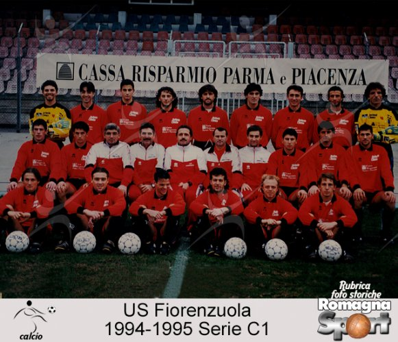 FOTO STORICHE - US Fiorenzuola 1994-95