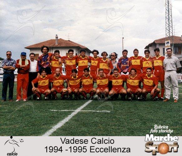 FOTO STORICHE - Vadese Calcio 1994-95